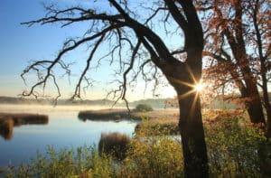 Stone Lake sunrise _7247